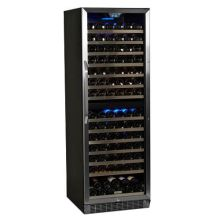 23 inch wide 155 bottle builtin wine cooler with dual cooling zones - Built In Wine Cooler