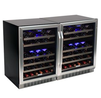 47 inch wide 92 bottle builtin wine cooler - Built In Wine Cooler