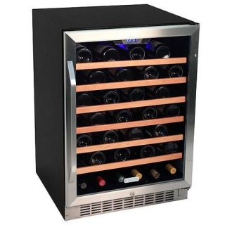 24 inch wide 53 bottle builtin wine cooler - Built In Wine Fridge