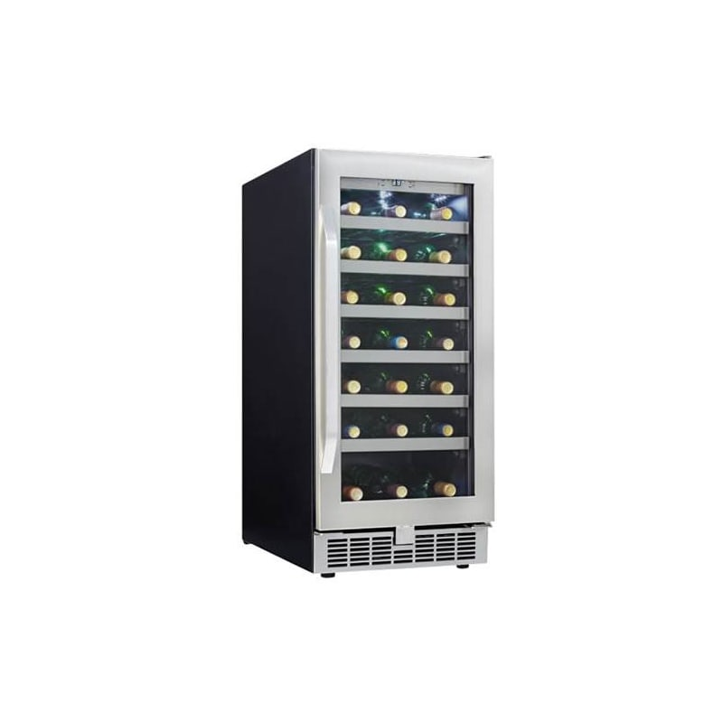 Danby DWC031D1B Silhouette Professional 28-Bottle Built-In Wine Cooler