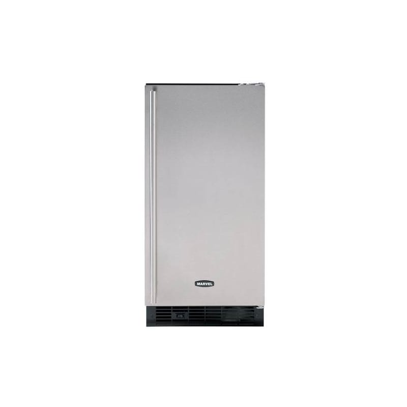 Marvel MA15CLS1L 15 ADA Compliant Clear Ice Maker in Stainless Steel - Left Hing