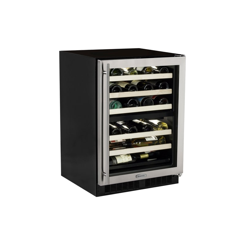 Marvel ML24WDG2R 40 Bottle 24 Built-In Dual Zone Wine Cellar