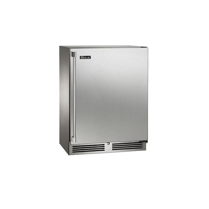 Perlick HH24RS-3-1R 24 Built-in Sottile Series Refrigerator - Right Hinge
