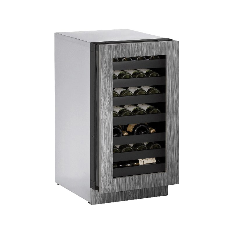 U-Line U-3018WCINT-00B 31 Bottle 18 Built-In Wine Captain Integrated Frame Singl