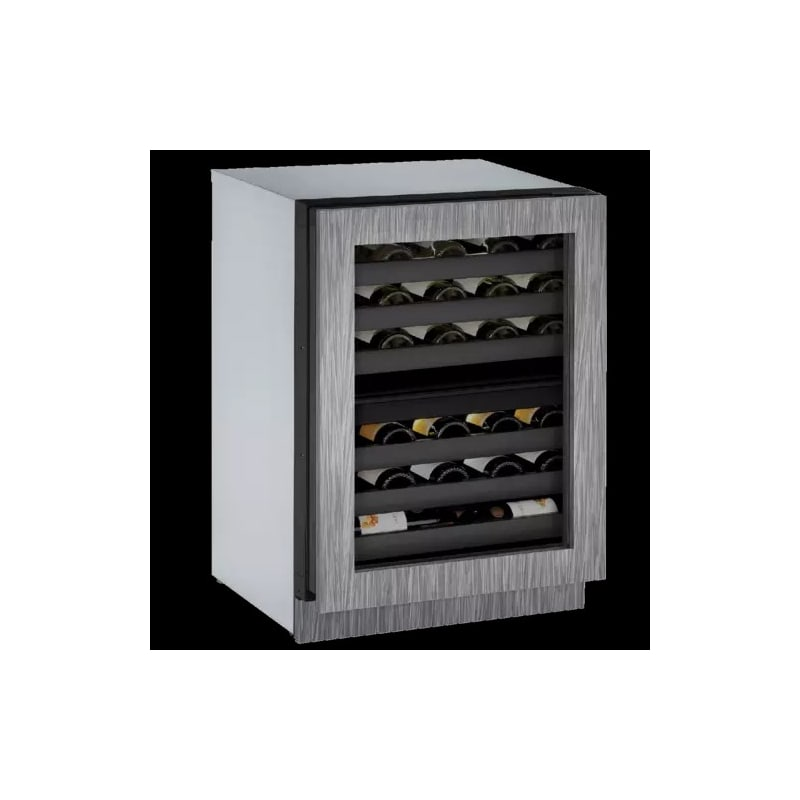 U-Line U-3024ZWCINT-00B 24 Wine Captain 43 Bottle Integrated Frame Wine Cooler