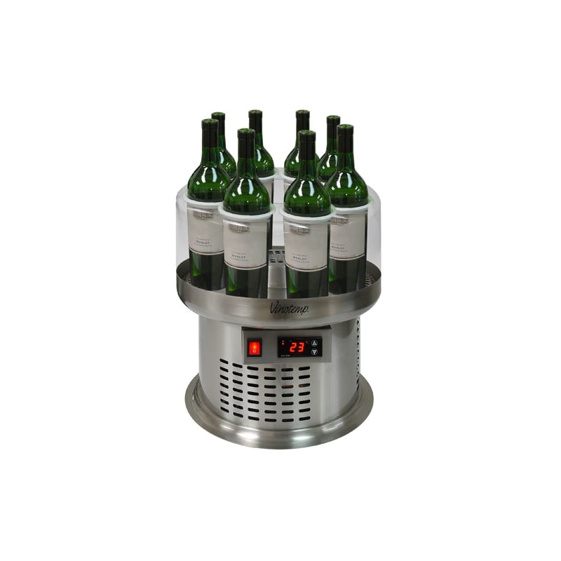 Vinotemp VT-8WC-OP 8 Bottle Open Wine Cooler